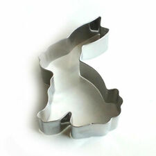 Metal 8cm Bunny Rabbit Shaped Cookie Pastry Fondant Icing Cutter