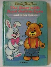 Enid Blyton's The Bear With Boot-Button Eyes Hardback Book Printed 1975 Purnell