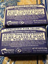 Dr. Bronner's Organic Castile Bar Soap - (Peppermint, 5 oz) UPC: 793379169460 EA