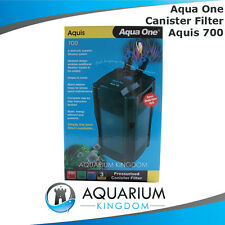Aqua One Aquis 700 Canister Filter CF700 Aquarium External Fresh Salt Marine Tap