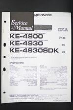 Pioneer ke-4900/4930 / Sdk Car Cassette Tuner Service Manual/Wiring