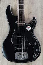 G&L Tribute SB-2 4-String Bass, Brazilian Cherry Board, Black Frost w/ GIG BAG