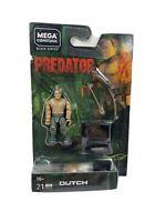 Mega Construx Predator Dutch Black Series Action Figure 21pcs New