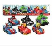 Marvel Super Heros Adventure 6 pack vehicle set (NEW)