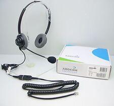 ADD330-04 Headset for Avaya 1608 1616 9610 9611 9620 9630 & Cisco 7905 7910 7912