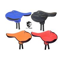 New Patent Synthetic Race Exercise Saddle Light Weight All Size 14 to 19