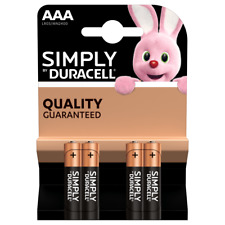 Duracell Battery - AAA x 4 Pack
