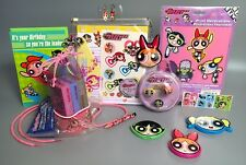 Vintage POWERPUFF GIRLS Rings, Mirrors, Cards, Decor, Stationery, More! 2000