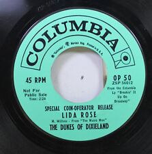50'S & 60'S Promo 45 The Dukes Of Dixieland - Lida Rose / If I Were A Bell On Co
