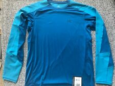 Arc'teryx Ether Comp Shirt UPF 50, Long Sleeve (For Men).Size:M.Blue.NWT.
