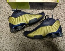 5df6e29532a Nike Shox BB4 VC USA Dream Team 2000 Sydney Olympic Vince Carter Navy Gold  Medal