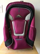 HIGH SIERRA ADVENTURE TRAVEL 7 CARRY ON WHEELED BACK PACK  AT705  NWOT