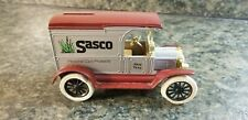 Ertl 1917 Ford Model T Van Die-Cast Bank Sasco Personal Care Products (927)