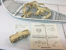 NEW Magline Snowshoes GI Military Army Magnesium White w/ Bindings - Made in USA