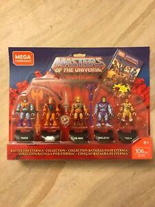 Mega Construx Masters of the Universe Battle for Eternia 5 Figure Set New
