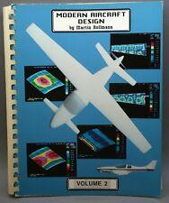 MODERN AIRCRAFT DESIGN VOLUME 2, 3rd Edition Martin Hollmann AERONAUTICAL