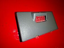 96 97 98 HONDA CIVIC UNDER DASH FUSE BOX ACCESS COVER LID DOOR LIGHT GRAY GREY