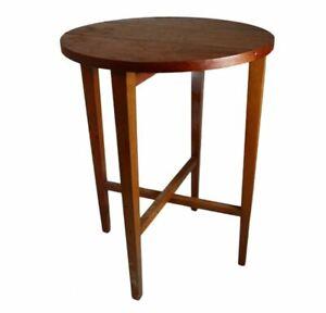 Vintage Mid Century Teak Plant Stand Coffee Folding Poul Hundevad Table (1)