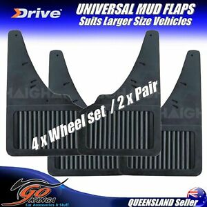 UNIVERSAL RUBBER MUD FLAPS 2 x PAIR (4 Wheel Set) OLD SCHOOL UMF2 SMALL-MED CARS