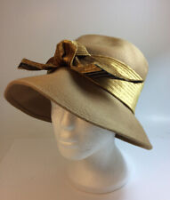 Vintage Norman Durand Women's Felt Hat With Bow