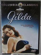 GILDA (DVD, Sony Imágenes nov-2000) Clásica Película Negra Stars Rita Hayworth