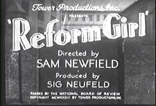REFORM GIRL (1933) DVD NOEL FRANCIS, RICHARD 'SKEETS' GALLAGHER