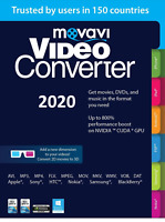 Movavi Video Converter Business 2020 Convert video , DVD & audio 170 formats