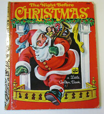 Little Golden Book THE NIGHT BEFORE CHRISTMAS HC  #450-1  1949/1979 34th Print