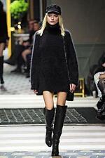 H&M Paris Show Collection Oversized Turtleneck Poloneck Sweater Jumper 8 34