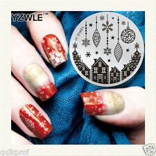 Stamping NailArt Image Plate Steel Template Polish Manicure Stencil Tool (ns-15)