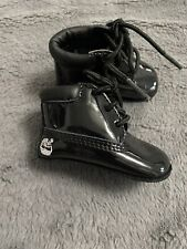 Infant Soft Soles patent leather Timberland boots Size 0