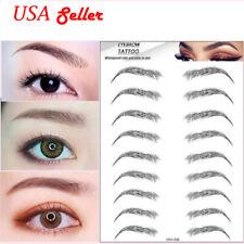 4D Hair-like Eyebrow Tattoo Sticker False Eyebrows Waterproof Eyebrow Tattoo US