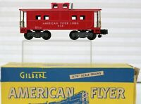 American Flyer by Gilbert Caboose 938 1954-55 Painted Knuckle Coupler