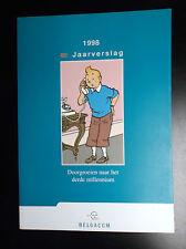 Jaarverslag Belgacom Tintin  ETAT NEUF