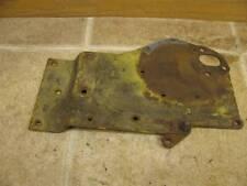 John Deere 1010 Tractor Crawler Tractor Gas Water Pump Plate AT12863