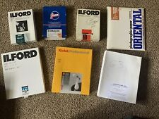 Photographic Darkroom Paper Lot For Print Making-5x7, 8x10 Open Box