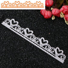 Heart Lace Cutting Dies Stencil DIY Scrapbooking Album Card Embossing Craft