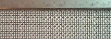 Edelstahl Drahtgewebe mit 1,6mm maschenweite, 0,5mm drahtstärke, maße:50cmx100cm