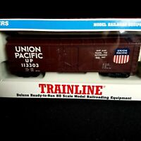 Union Pacific 113303 40' Box Car Deluxe RTR / Walthers Trainline HO