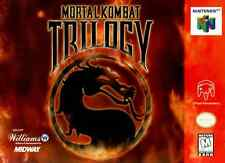 Mortal Kombat Trilogy N64 Great Condition Fast Shipping