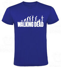 Camiseta The Walking Dead Evolution hombre tallas y colores