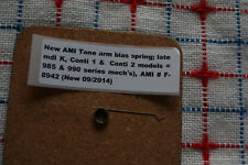 AMI juke model K to Continental 2 Tone Arm bias spring HARD TO FIND! NEW! F8942