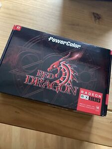 PowerColor Radeon RX580 8gb Red Dragon