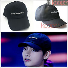 Kpop BTS V Hat Bangtan Boys Wings dont forget me Baseball Cap Apink  Headwear