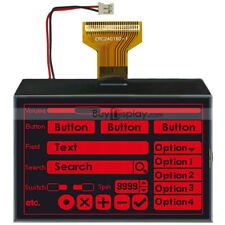 "3.4""Red Serial SPI Graphic 240x160 LCD Display Module,ST7586 Controller,Tutorial"