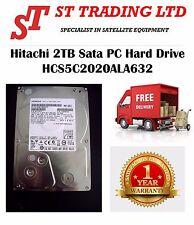 Hitachi 2TB Sata PC Hard Drive HCS5C2020ALA632