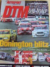 AUTOSPORT MAGAZINE JUL 1994 SUPPLEMENT DTM DONINGTON BLITZ MERC C-CLASS LUDWIG