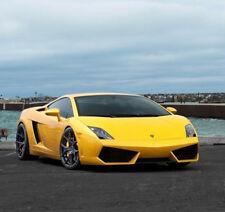 Set 4 Wheels 20x9 / 20x11 Rohana RFX5 5x112 Black Rims For Lamborghini Gallardo