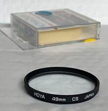 Hoya 49mm Fit, Cross-Screen Filter, & Keeper