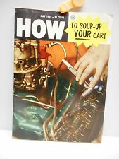 Vintage - HOW TO SOUP-UP YOUR CAR Booklet/Magazine - May 1959 - Printed in USA
